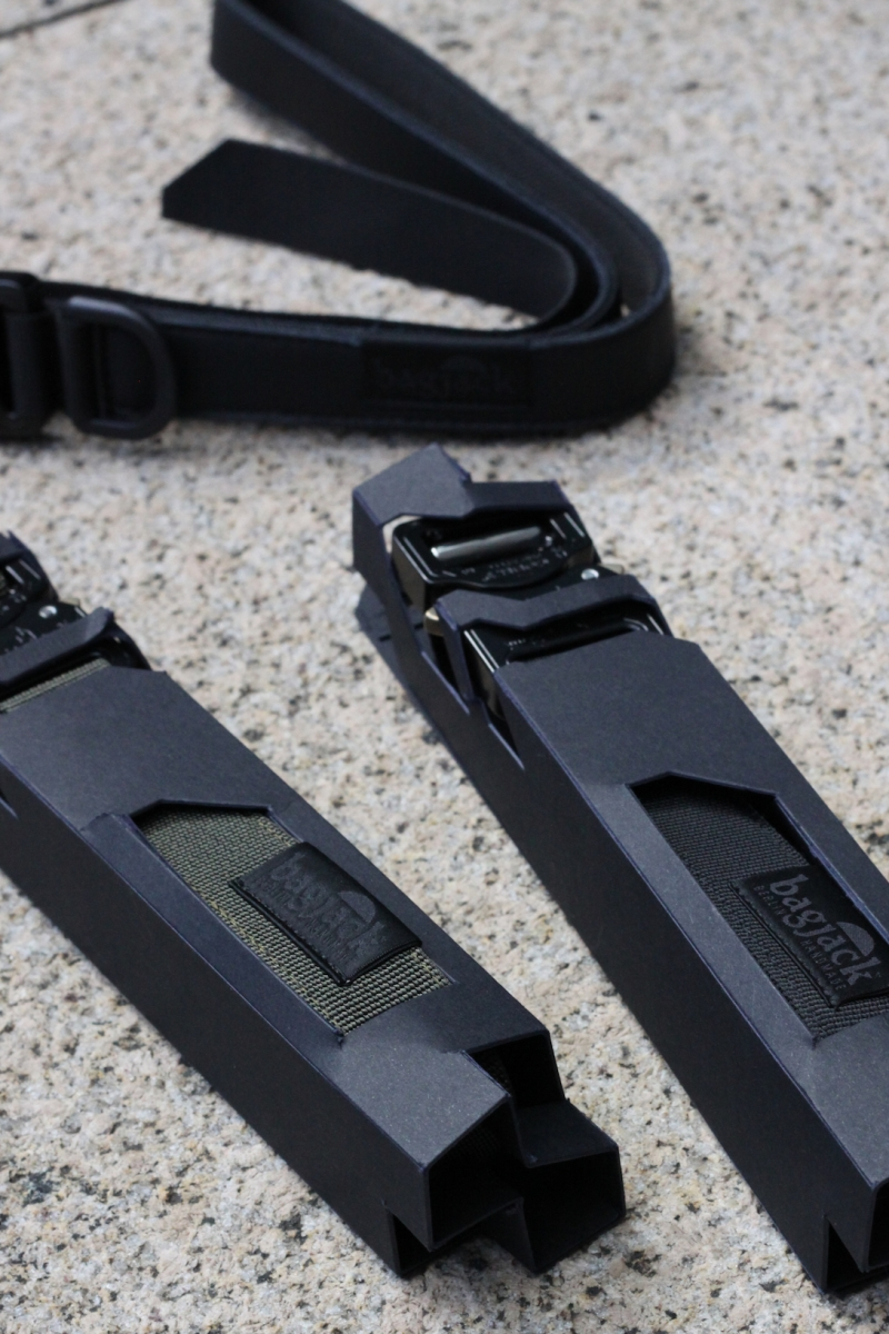 NXL belt 25mmtop : leatherright,left : nylon